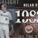 Nolan Ryan 2015 Topps Highlight of the Year #H-22 Houston Astros Baseball Card