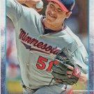 Anthony Swarzak 2015 Topps #128 Minnesota Twins Baseball Card