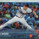 Alex Wood 2015 Topps #642 Atlanta Braves Baseball Card