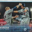 Brian Dozier 2015 Topps Update #US62 Minnesota Twins Baseball Card