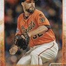 Ryan Vogelsong 2015 Topps Update #US5 San Francisco Giants Baseball Card