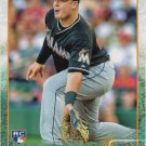 Justin Bour 2015 Topps Update Rookie #US35 Miami Marlins Baseball Card