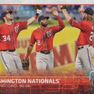 Washington Nationals 2015 Topps #160 Baseball Team Card