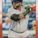 David Ortiz 2015 Topps #500 Boston Red Sox Baseball Card