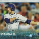 Steven Souza 2015 Topps Rookie #537 Tampa Bay Rays Baseball Card