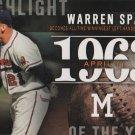 Warren Spahn 2015 Topps Highlight of the Year #H-13 Milwaukee Braves Baseball Card