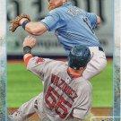 Logan Forsythe 2015 Topps #329 Tampa Bay Rays Baseball Card