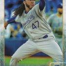 Johnny Cueto 2015 Topps Update #US304 Kansas City Royals Baseball Card
