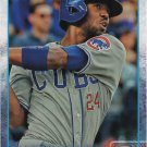 Dexter Fowler 2015 Topps Update #US395 Chicago Cubs Baseball Card