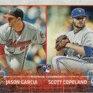 Jason Garcia-Scott Copeland 2015 Topps Update Rookie #US114 Baseball Card
