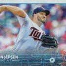 Kevin Jepsen 2015 Topps Update #US223 Minnesota Twins Baseball Card