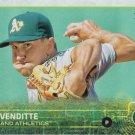 Pat Venditte 2015 Topps Update Rookie #US81 Oakland Athletics Baseball Card