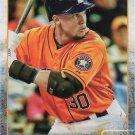 Carlos Gomez 2015 Topps Update #US107 Houston Astros Baseball Card