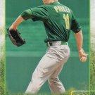 Jarrod Parker 2015 Topps #607 Oakland Athletics Baseball Card