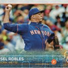 Hansel Robles 2015 Topps Update Rookie #US232 New York Mets Baseball Card