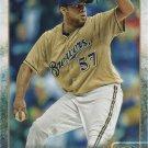 Francisco Rodriguez 2015 Topps Update #US221 Milwaukee Brewers Baseball Card