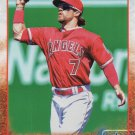 Collin Cowgill 2015 Topps Update #US385 Los Angeles Angels Baseball Card