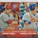 Danny Dorn-Darrell Ceciliani 2015 Topps Update Rookie #US256 Baseball Card