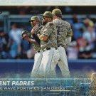 Justin Upton-Matt Kemp-Wil Myers 2015 Topps Update #US39 San Diego Padres Baseball Card