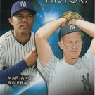 Mariano Rivera-Whitey Ford 2015 Topps Eclipsing History #EH-6 New York Yankees Baseball Card