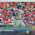 Miguel Cabrera 2015 Topps Update #US28 Detroit Tigers Baseball Card