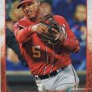 Yunel Escobar 2015 Topps Update #US210 Washington Nationals Baseball Card