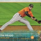 Martin Prado 2015 Topps Update #US337 Miami Marlins Baseball Card