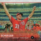 Max Scherzer 2015 Topps Update #US169 Washington Nationals Baseball Card