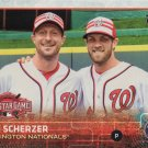 Max Scherzer 2015 Topps Update #US300 Washington Nationals Baseball Card