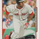 Jackie Bradley Jr. 2014 Topps #439 Boston Red Sox Baseball Card