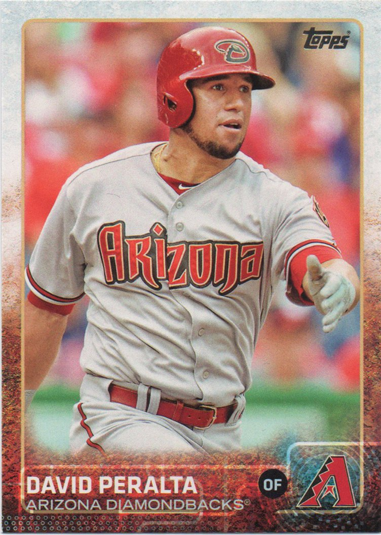 David Peralta 2015 Topps #260 Arizona Diamondbacks Baseball Card