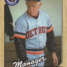 Sparky Anderson 1987 Topps #218 Detroit Tigers Baseball Card