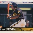 Emil Brown 1997 Upper Deck Collector's Choice Rookie #443 Pittsburgh Pirates Baseball Card