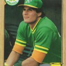 Jose Canseco 1987 Topps #620 Oakland Athletics Baseball Card