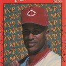 Eric Davis 1990 Donruss MVP #BC-23 Cincinnati Reds Baseball Card
