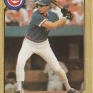Terry Francona 1987 Topps #785 Chicago Cubs Baseball Card