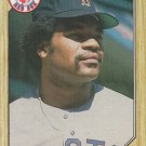 Dave Henderson 1987 Topps #452 Boston Red Sox Baseball Card