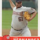 Livan Hernandez 2006 Fleer Tradition #110 Washington Nationals Baseball Card