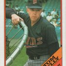 Tom Kelly 1988 Topps #194 Minnesota Twins Baseball Card