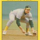 Carney Lansford 1991 Fleer #14 Oakland Athletics Baseball Card