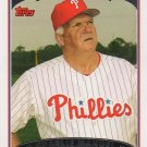Charlie Manuel 2006 Topps #286 Philadelphia Phillies Baseball Card