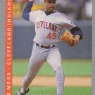 Jose Mesa 1993 Fleer #596 Cleveland Indians Baseball Card
