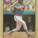 Jerry Mumphrey 1987 Topps #372 Chicago Cubs Baseball Card