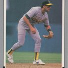 Walt Weiss 1991 Leaf #50 Oakland Athletics Baseball Card