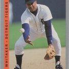 Lou Whitaker 1993 Fleer #614 Detroit Tigers Baseball Card