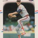 Mike Witt 1988 Fleer #507 California Angels Baseball Card
