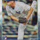 Branden Pinder 2015 Topps Update Rookie #US60 New York Yankees Baseball Card