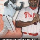 Ryan Howard 2015 Topps 'Stepping Up' #SU-13 Philadelphia Phillies Baseball Card