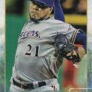 Jeremy Jeffress 2015 Topps Update #US47 Milwaukee Brewers Baseball Card
