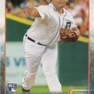 Melvin Mercedes 2015 Topps Rookie #484 Detroit Tigers Baseball Card